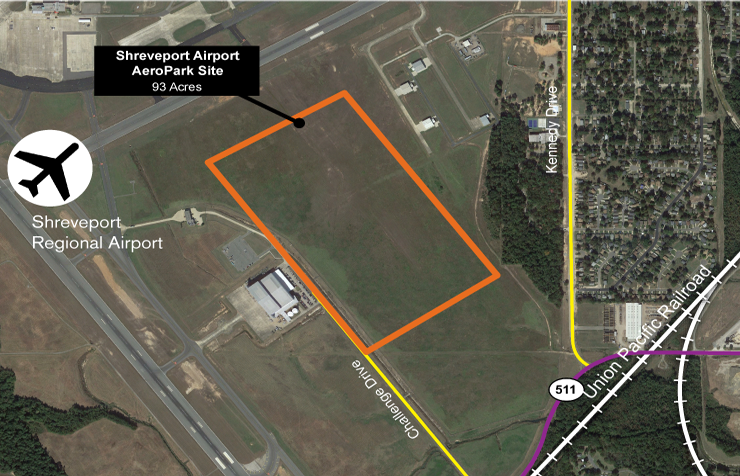 Shreveport Airport AeroPark Site