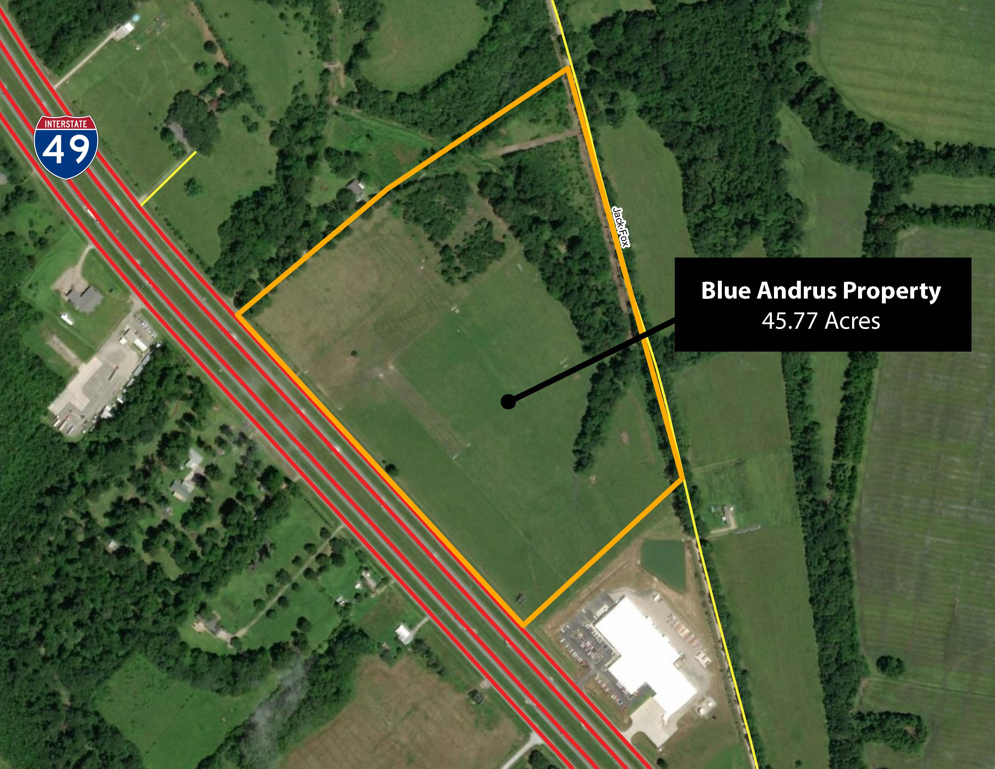 Blue Andrus Property