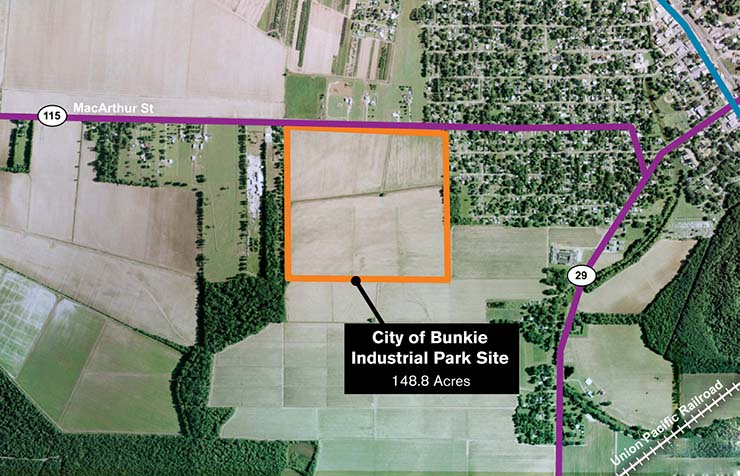 City of Bunkie Industrial Park