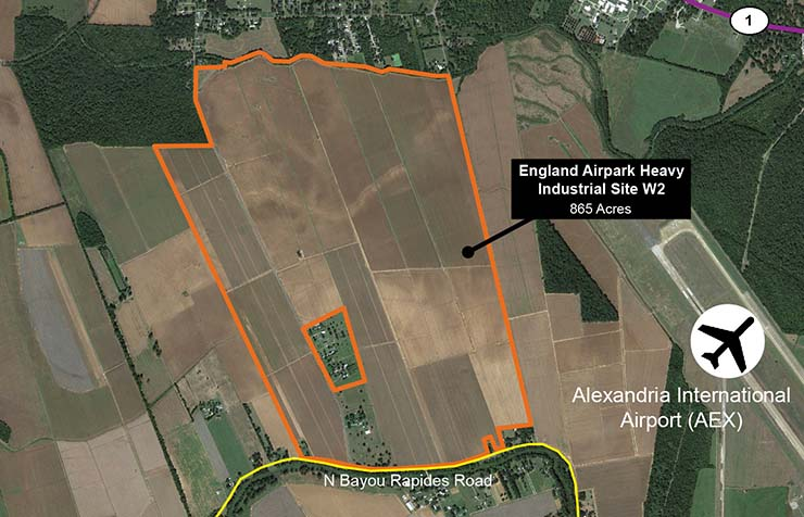 England Airpark Heavy Industrial Site W2