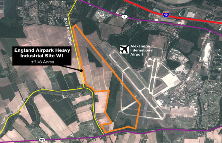 England Airpark Heavy Industrial W1