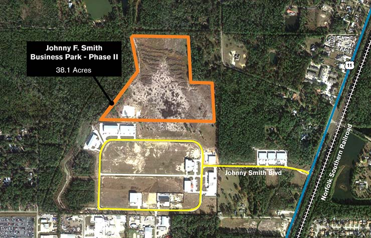 Johnny F. Smith Memorial Business Park-Phase II