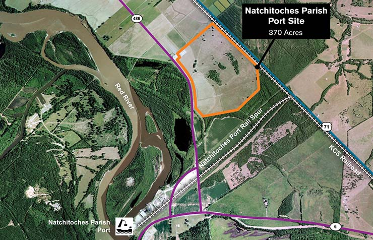 Natchitoches Parish Port Site