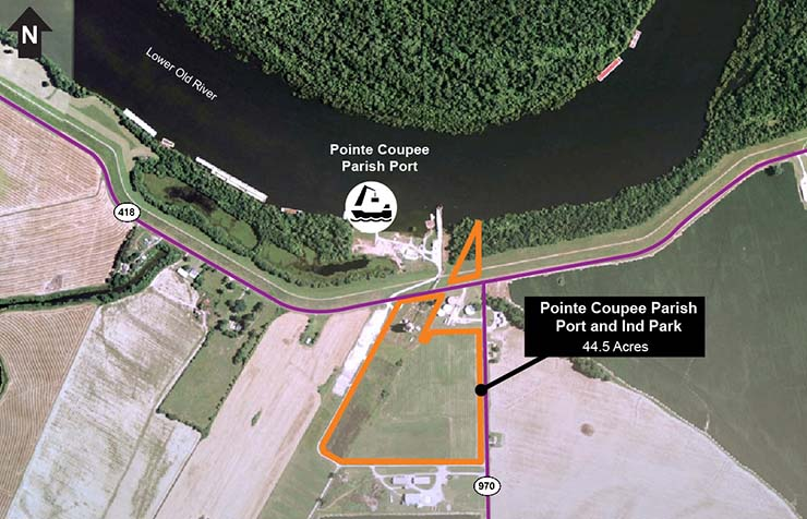 Pointe Coupee Port and Industrial Site