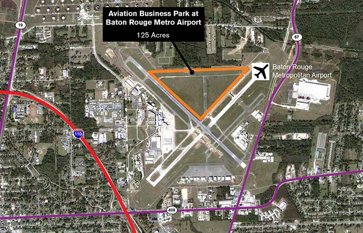 The Aviation Business Park at Baton Rouge Metropolitan Airport