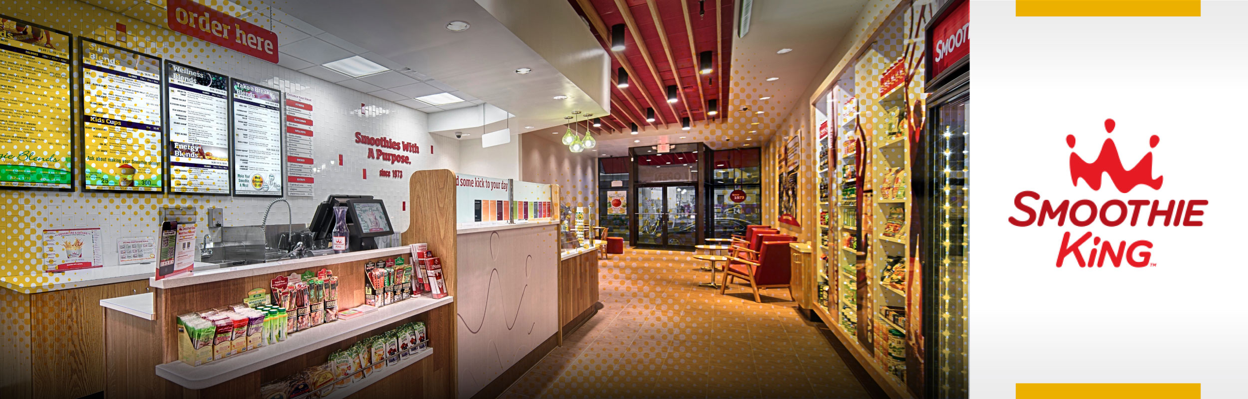 Smoothie King store interior