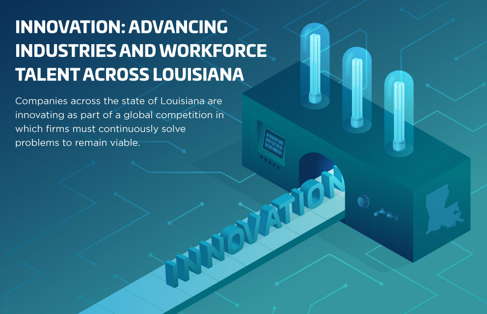 Innovation: Advancing Industries and Workforce Talent Across Louisiana