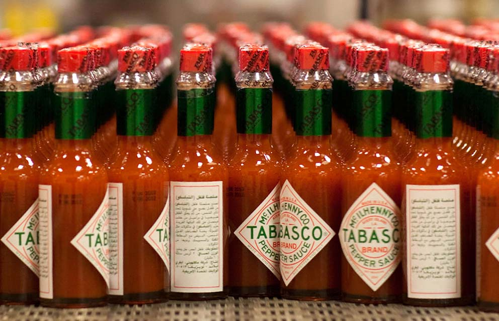 Agribusiness industry supports companies like Tabasco