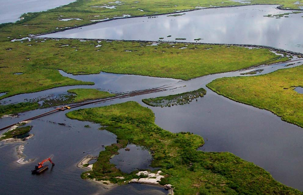 Water Management helps Louisiana wetlands like Goose Point
