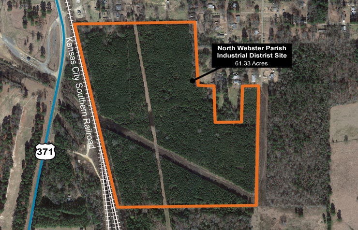North Webster Parish Industrial District Site