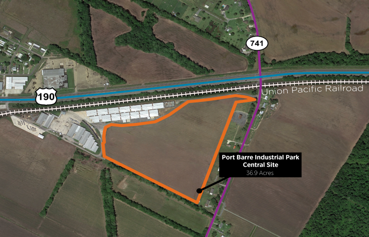 Port Barre Industrial Park – Central Site