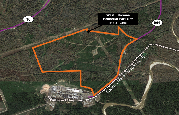 West Feliciana Industrial Park Site