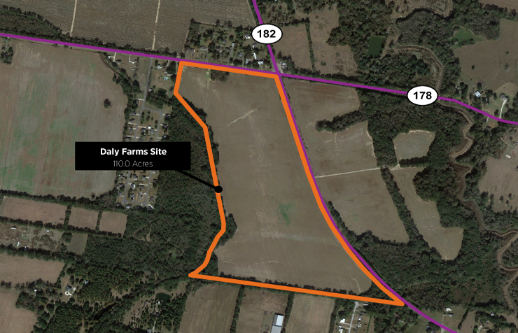 Daly Farms Site