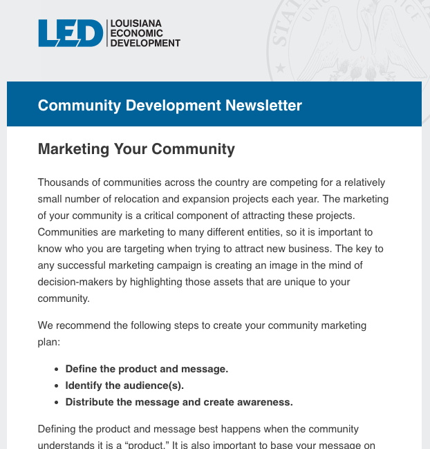 Marketing Your Community