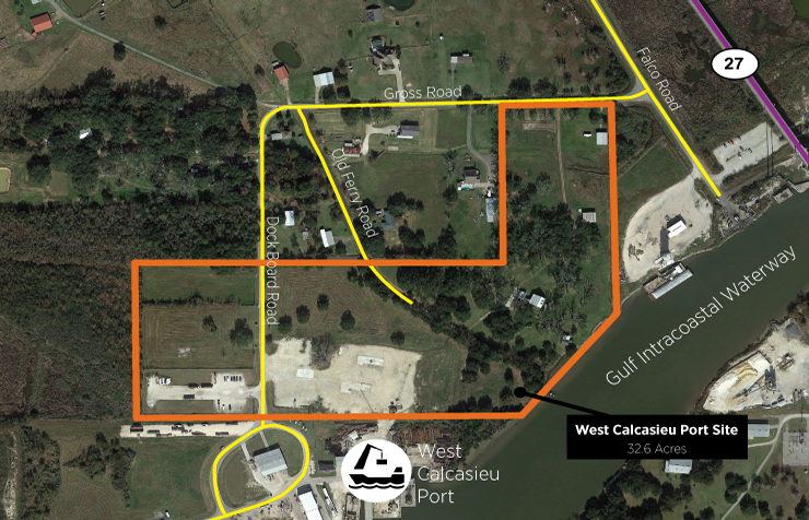 West Calcasieu Port Site