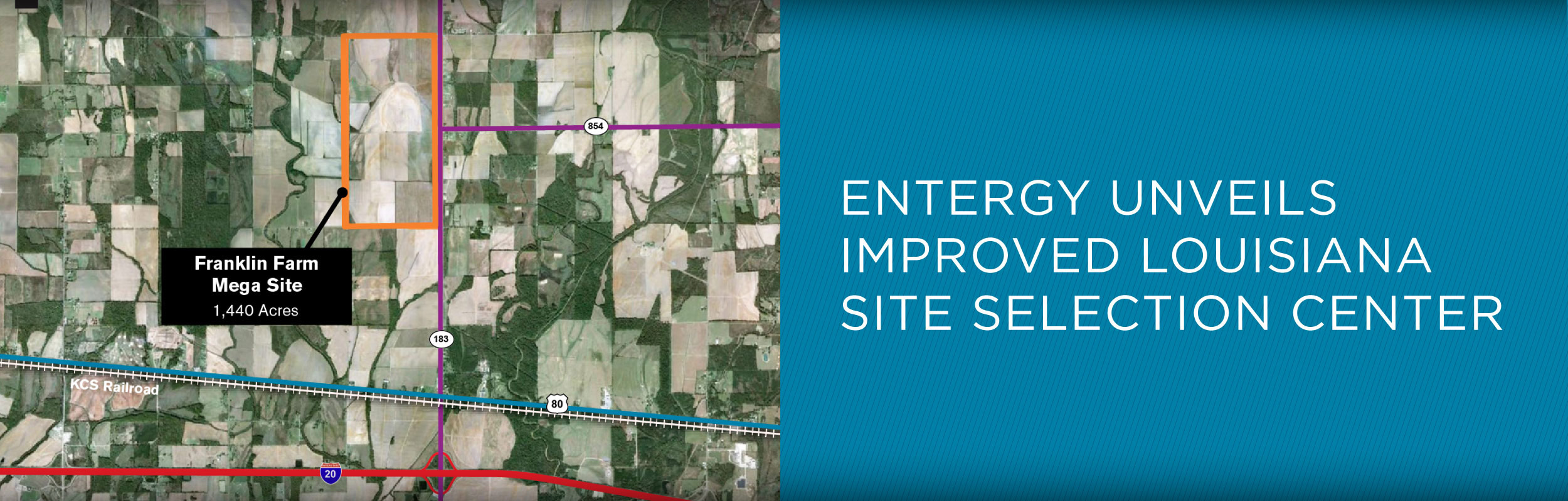 Entergy unveils improved site selection center