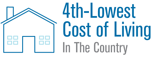 Louisiana has the 4th-lowest cost of living in the country
